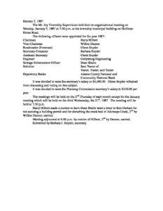 Board of Supervisors' Meeting @ Mount Joy Township Municipal Building | Gettysburg | Pennsylvania | United States